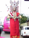 Big Idol of Pandavas displayed during Painkuni festival